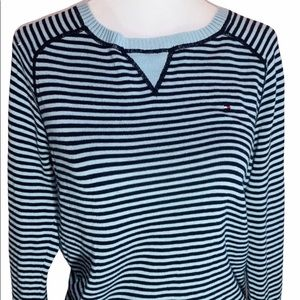 Tommy Hilfiger Cotton Striped Sweater Long Sleeves
